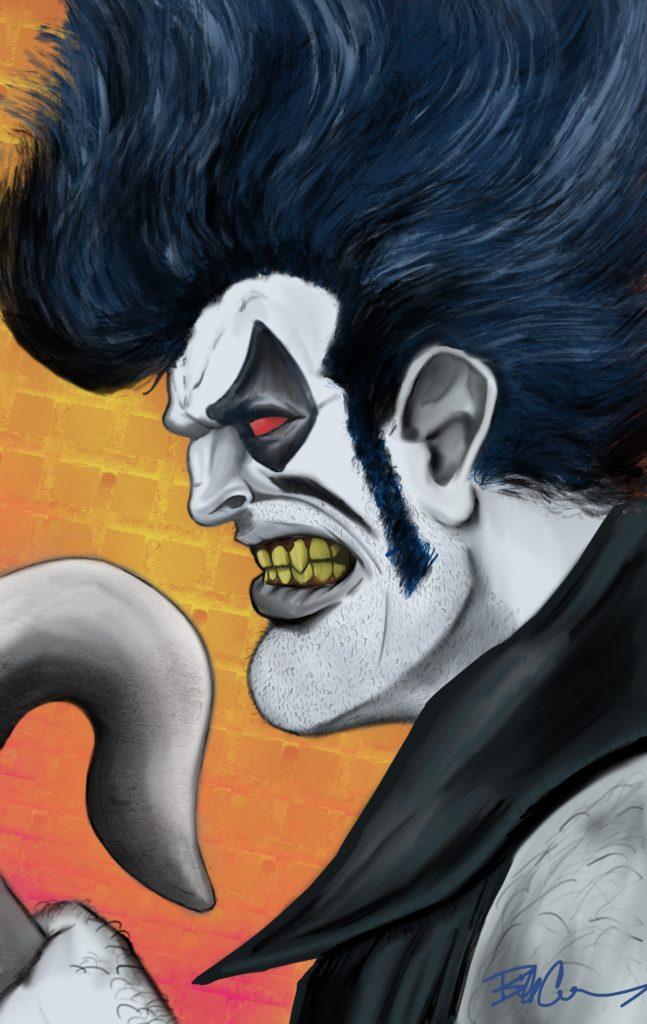 Lobo by Evil Little Clown