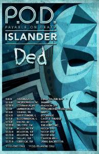 P.O.D.  Tour Admat