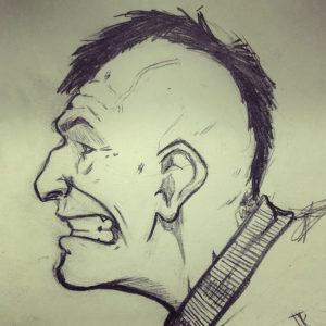 Punk sketch